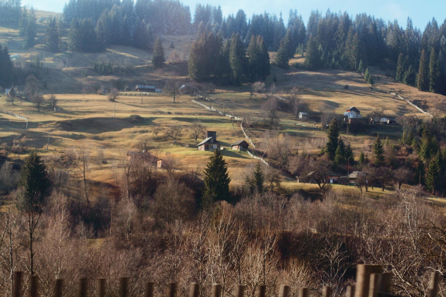 Природные богатства Украины: Черногорский хребет (Черногора)