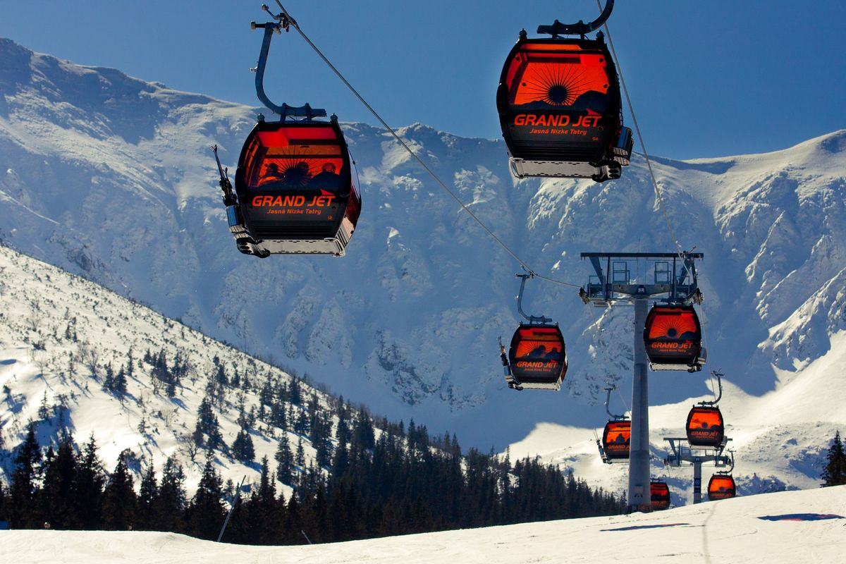 Словакия: курорт Ясна среди лучших горнолыжных курортов Европы