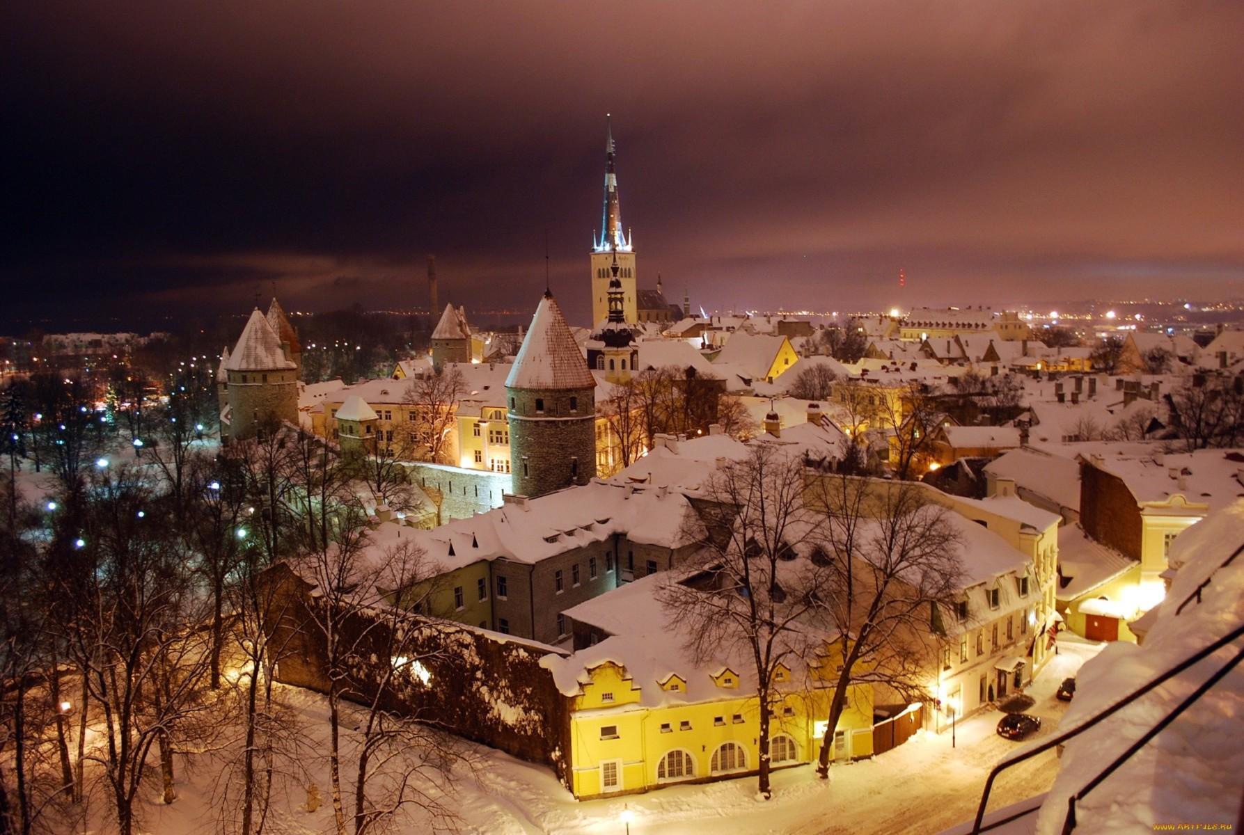 Эстония: афиша мероприятий Таллина в зимнее время