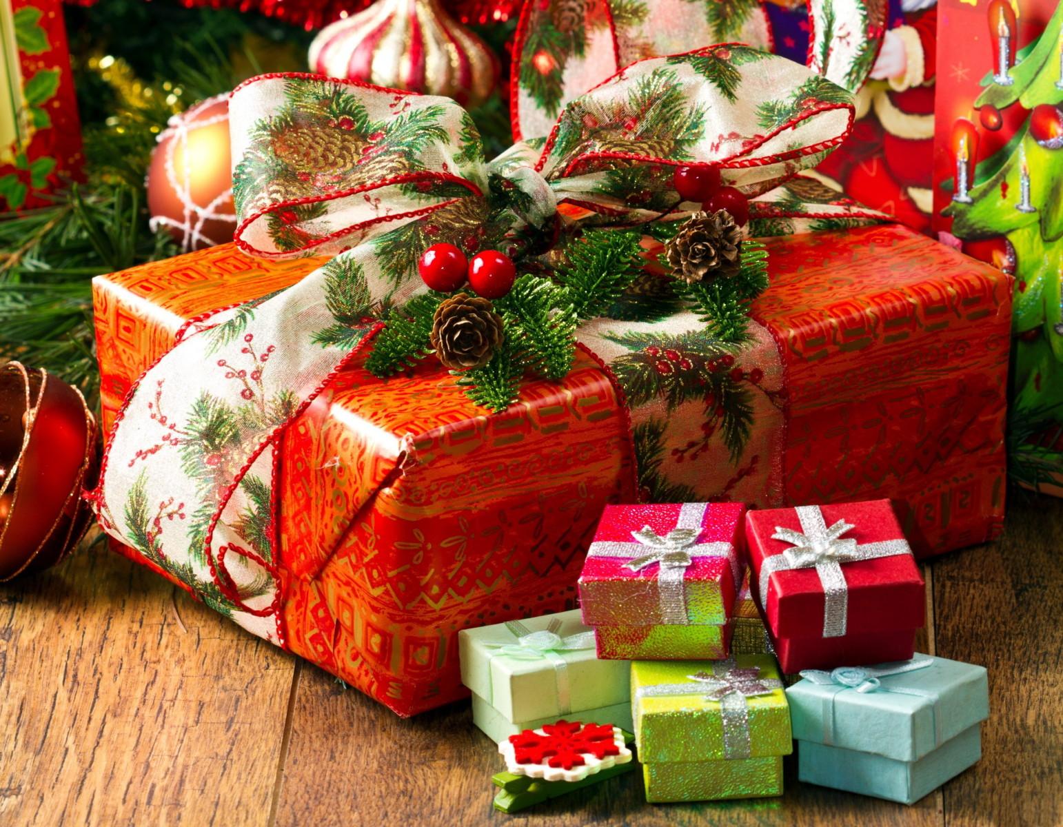 Мы дарим подарки к Новому году!