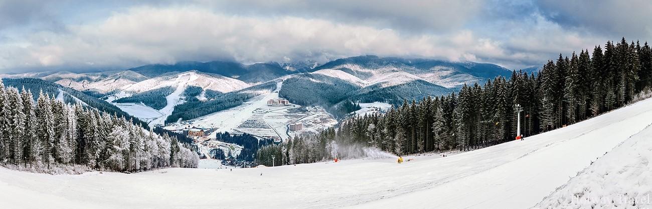 В Буковеле открыт сезон катания 2017-2018!