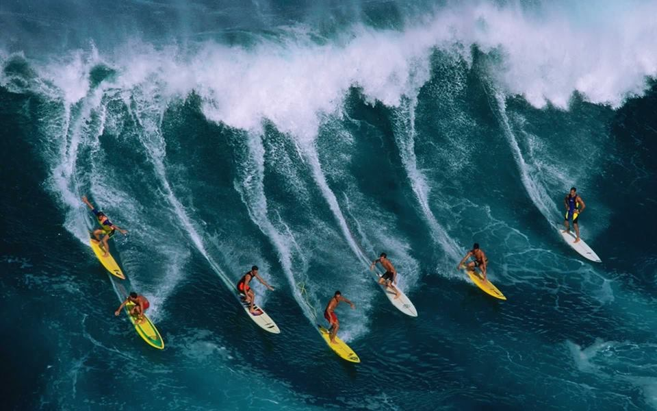 Лучшие места, на планете, для сёрфинга