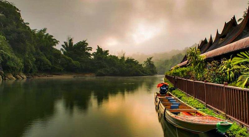 Откройте для себя необычный Тайланд: река Квай
