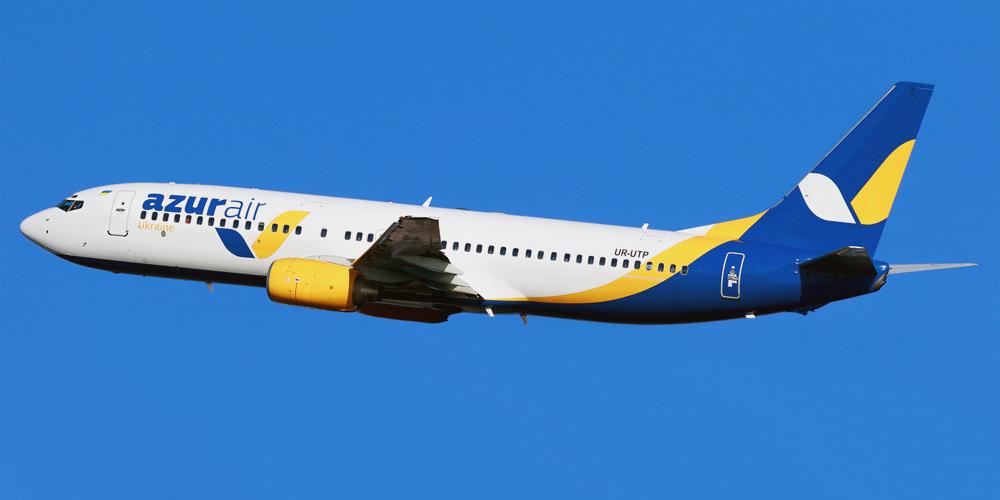 Авиакомпания Azur Air Ukraine будет выполнять рейсы из Киева на Пхукет