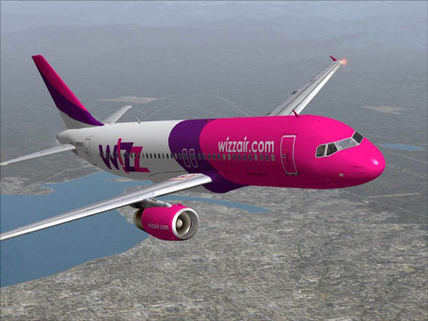 Wizz Air добавляет полёты в Лондон и Бухарест из Киева