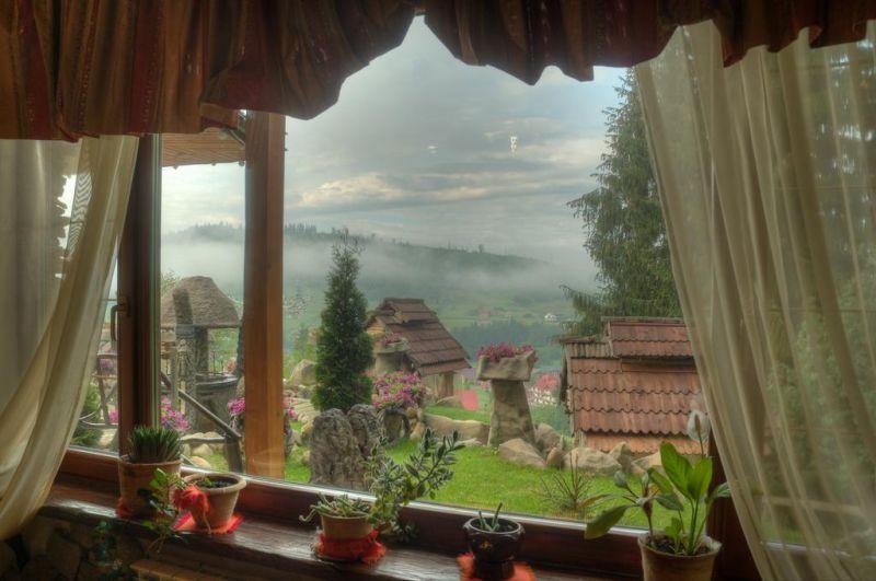 Самые необычные отели в Украине