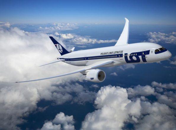 Авиакомпания LOT объявила о новых рейсах из Киева