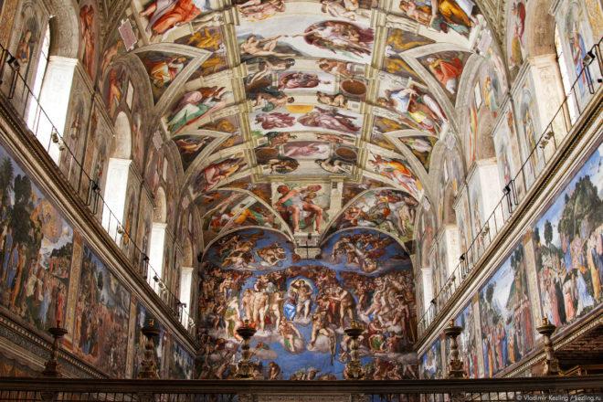 Двери комплекса музеев Ватикана теперь открыты после 19:00